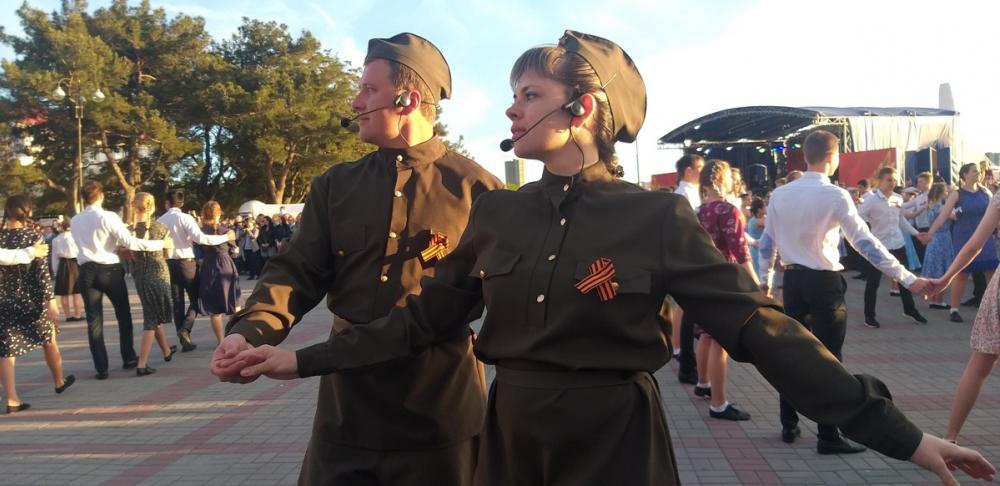 В День Победы Геленджик присоединился к всероссийским акциям