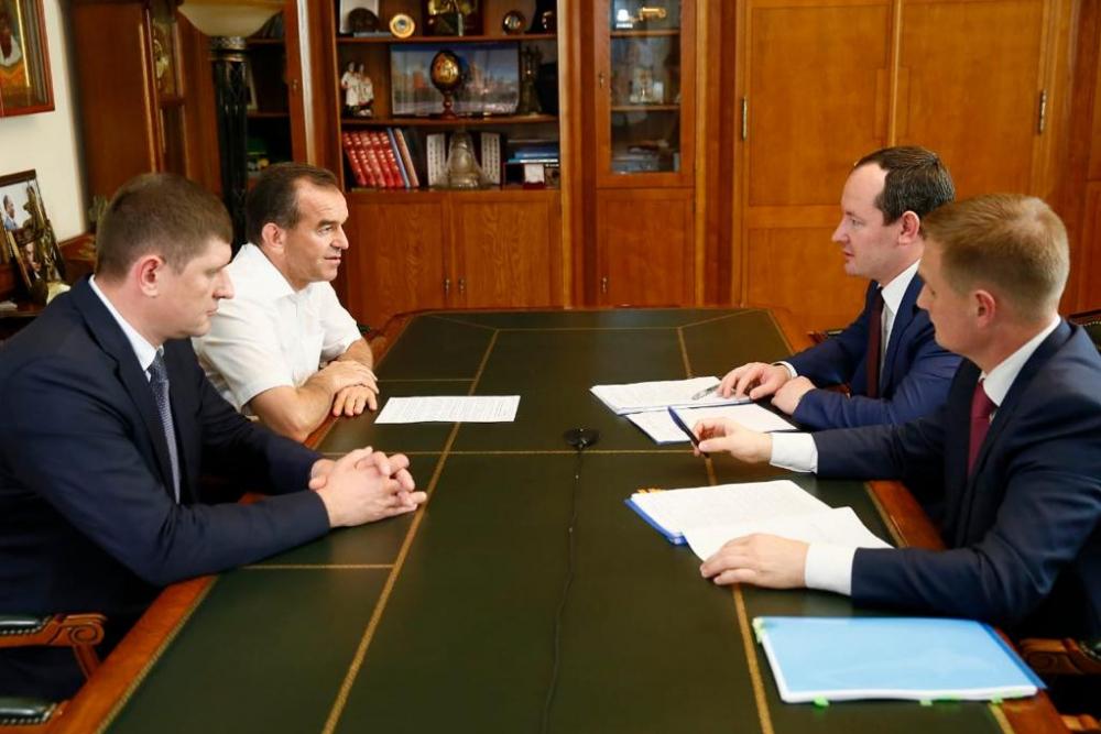 Развитие регионального энергокомплекса обсудили на рабочей встрече с губернатором