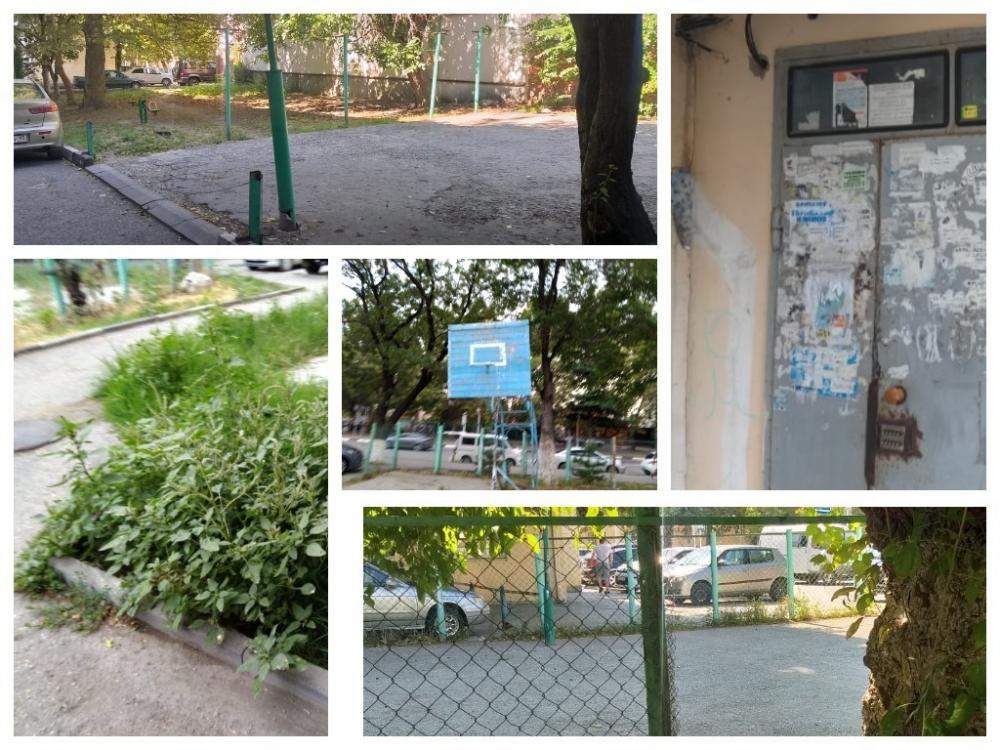 Одинокие качели и убитая спорт.площадка – как результат работы УК в Геленджике