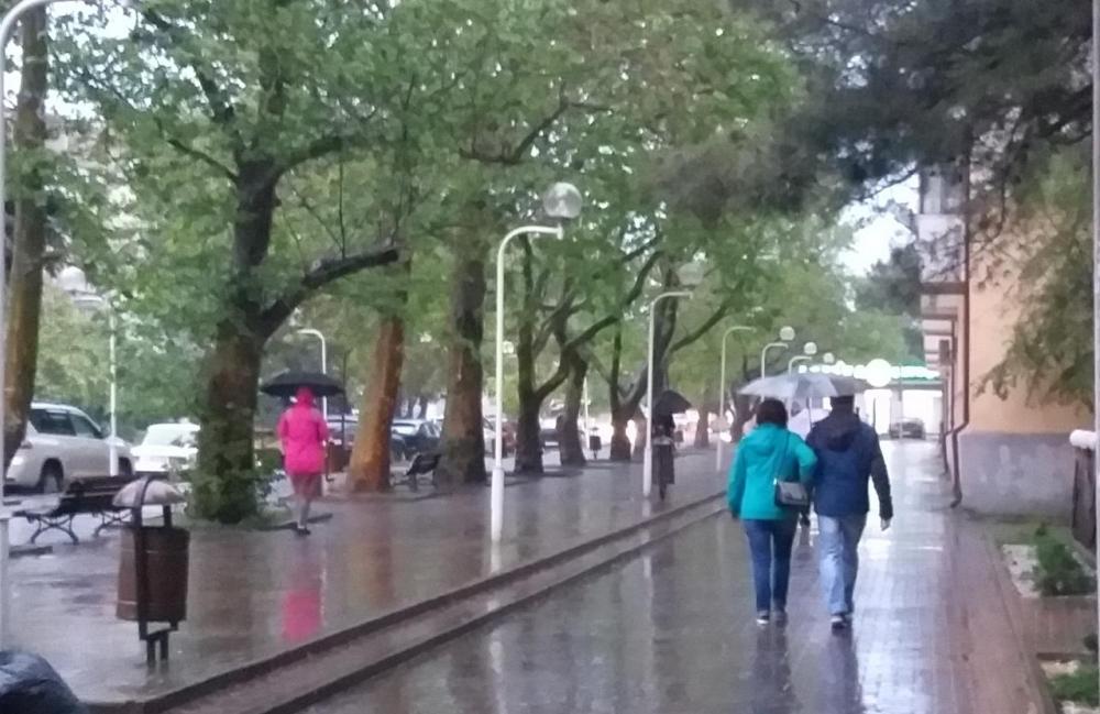День Победы будет сопровождаться дождем в Геленджике