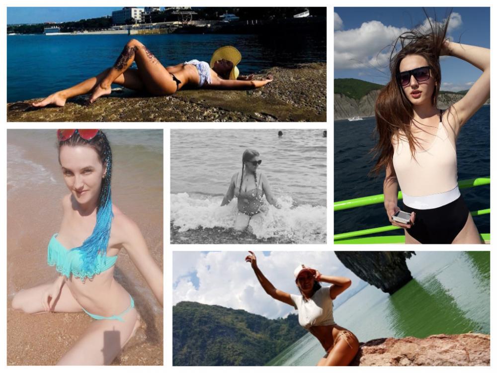 Первые пять участниц решили побороться за звание «Королева пляжа 2019»