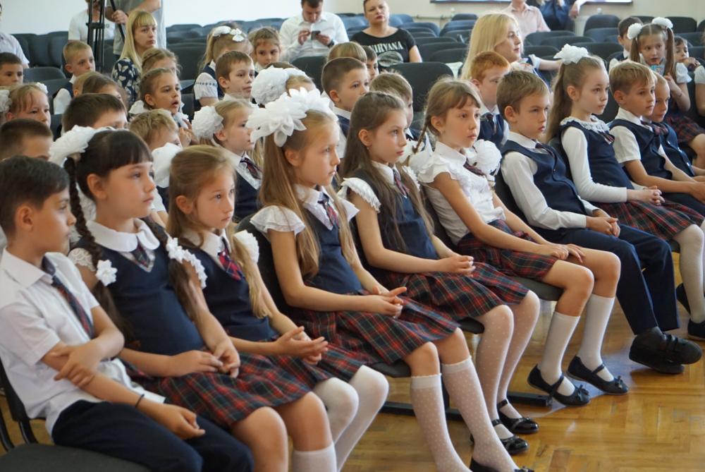 Урок безопасности для первоклассников прошел в школе Геленджика