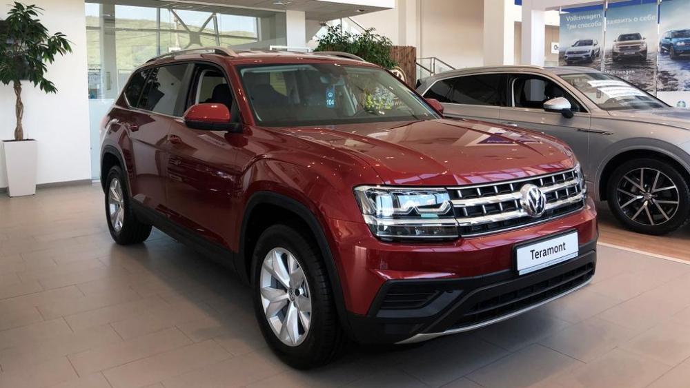 Тeramont – вместительный внедорожник от Volkswagen