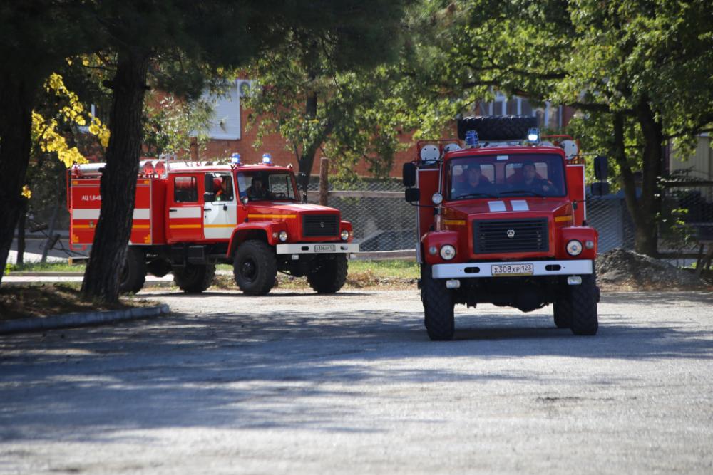 В лесопожарный центр Геленджика прибыла новая техника
