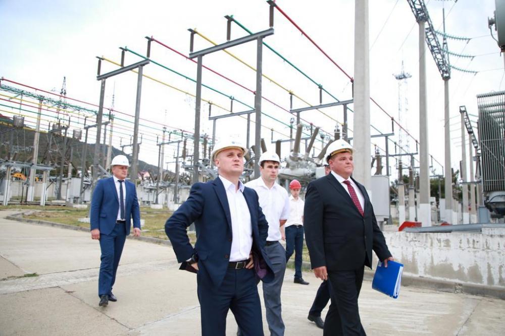 Глава «Россети Кубань» совершил рабочую поездку в юго-западный энергорайон