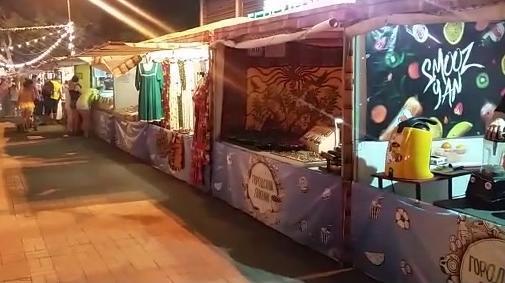 Фестиваль еды и музыки проходит в Геленджике