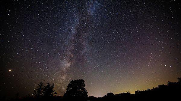 Сегодня ночью жители Геленджика смогут увидеть метеорный поток