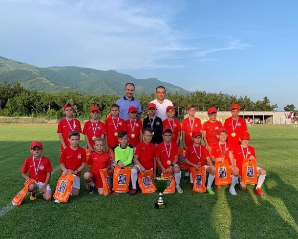 Юные футболисты из Геленджика стали чемпионами Первенства Краснодарского края