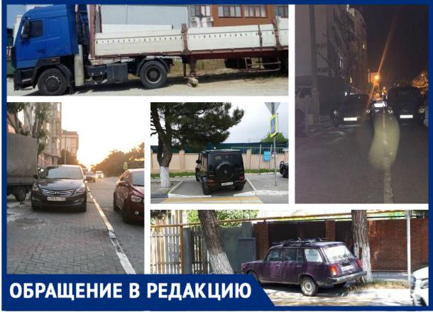 ТОП-5 любителей оставлять автомобили в неположенных местах в Геленджике