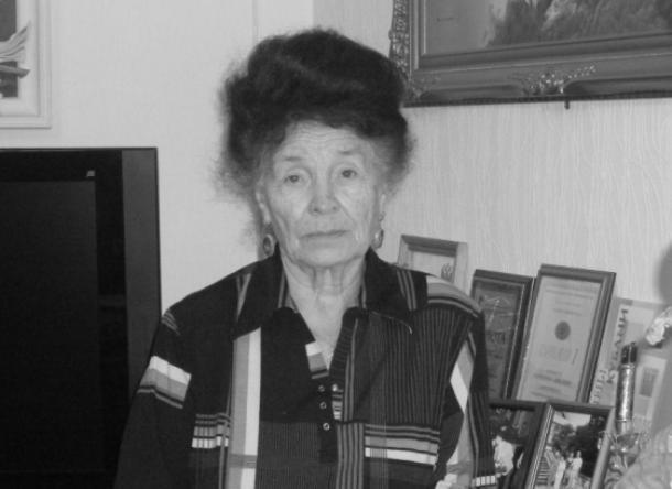 Недожив несколько дней до 95-летия ушла из жизни Пантелеева Александра Лаврентьевна
