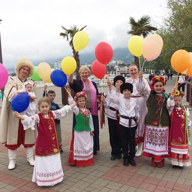 Городской фестиваль семейных традиций прошел в Геленджике