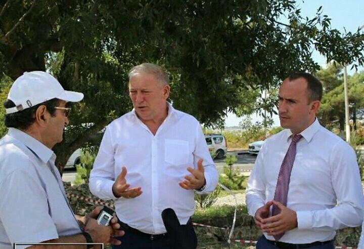 Вице-губернатор Кубани проверил строительство Андреевского парка в Геленджике