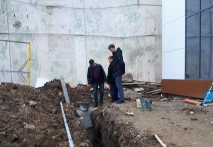 Канализация Дома культуры в Архипо-Осиповке будет заменена