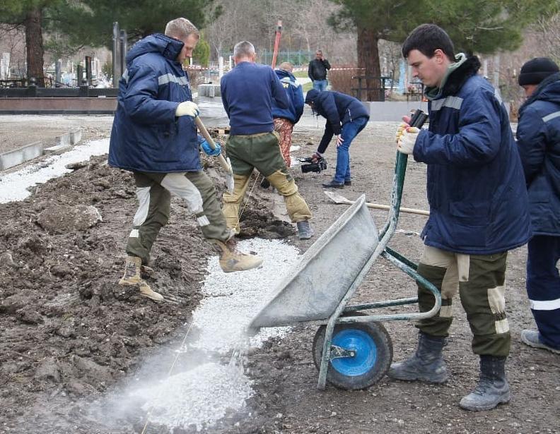 На новом кладбище Геленджика появится «Аллея Героев»
